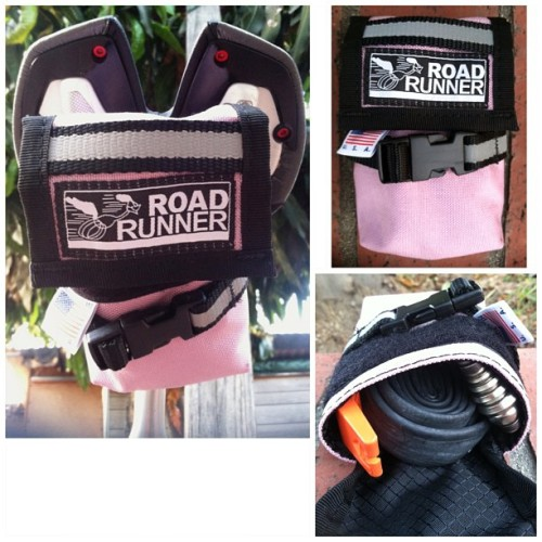 Got myself a @roadrunnerbags saddle bag yesterday. Locally made here in Los Angeles by two of the sweetest people. Thank you again Brianna and Brad!