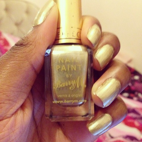 #barrym #metallic #gold #nailpolish #cool #makeup #glamour #trendy #vanity