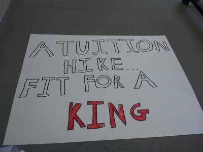 A little going away present for our university president, F. King Alexander