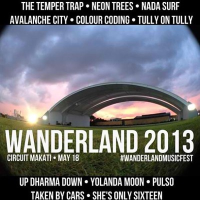 How I wish I could attend. Missing music and chill-outs. #wanderland #islandlife