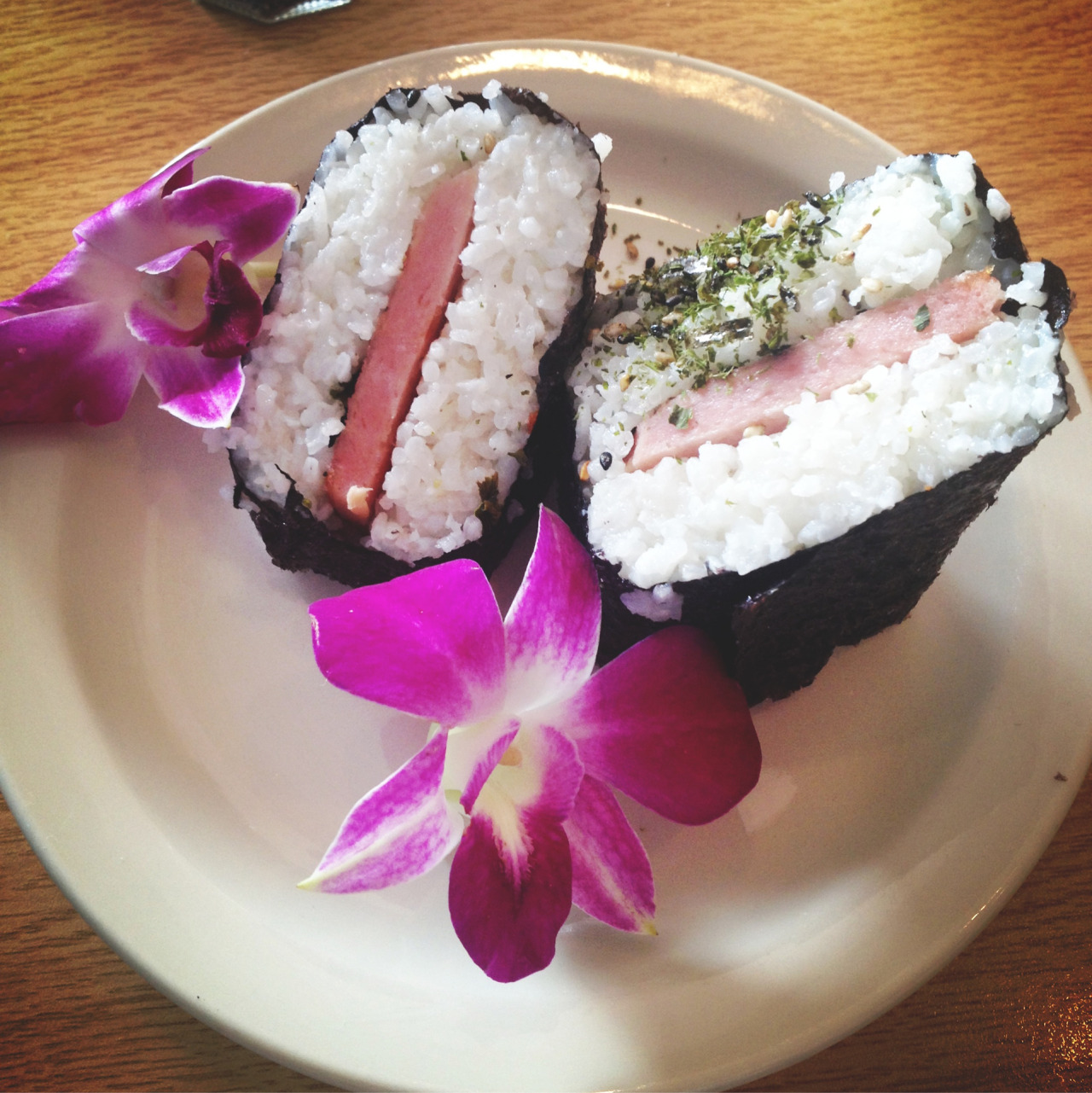 Spam Musubi  Photo by Rubsta