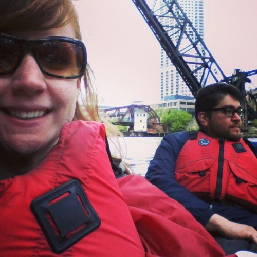 I'm on a boat (at Chicago Downtown)