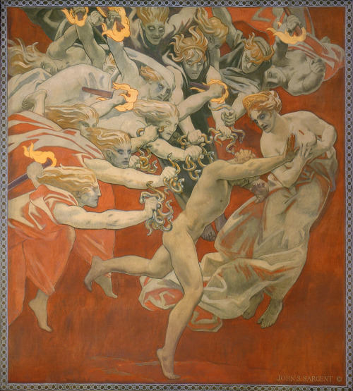nevver:  Orestes Pursued by the Furies, John Singer Sargent