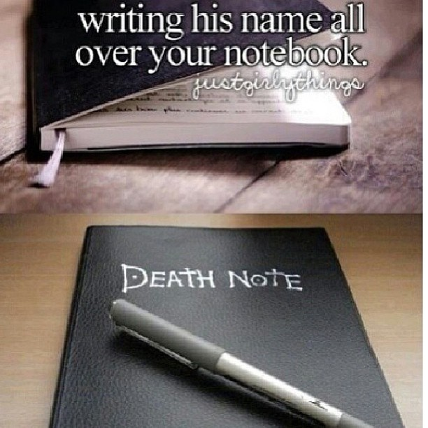 Hahaha This Made Me Smile😂😂😂 #DeathNote #L #Light #Kira #GirlyJunk #Anime