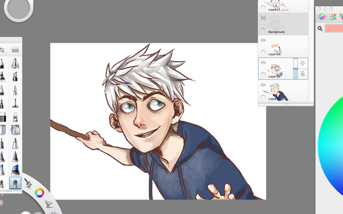 adandeliondream:  adandeliondream:  have another Jack wip!  hopefully this will get done this weekend!