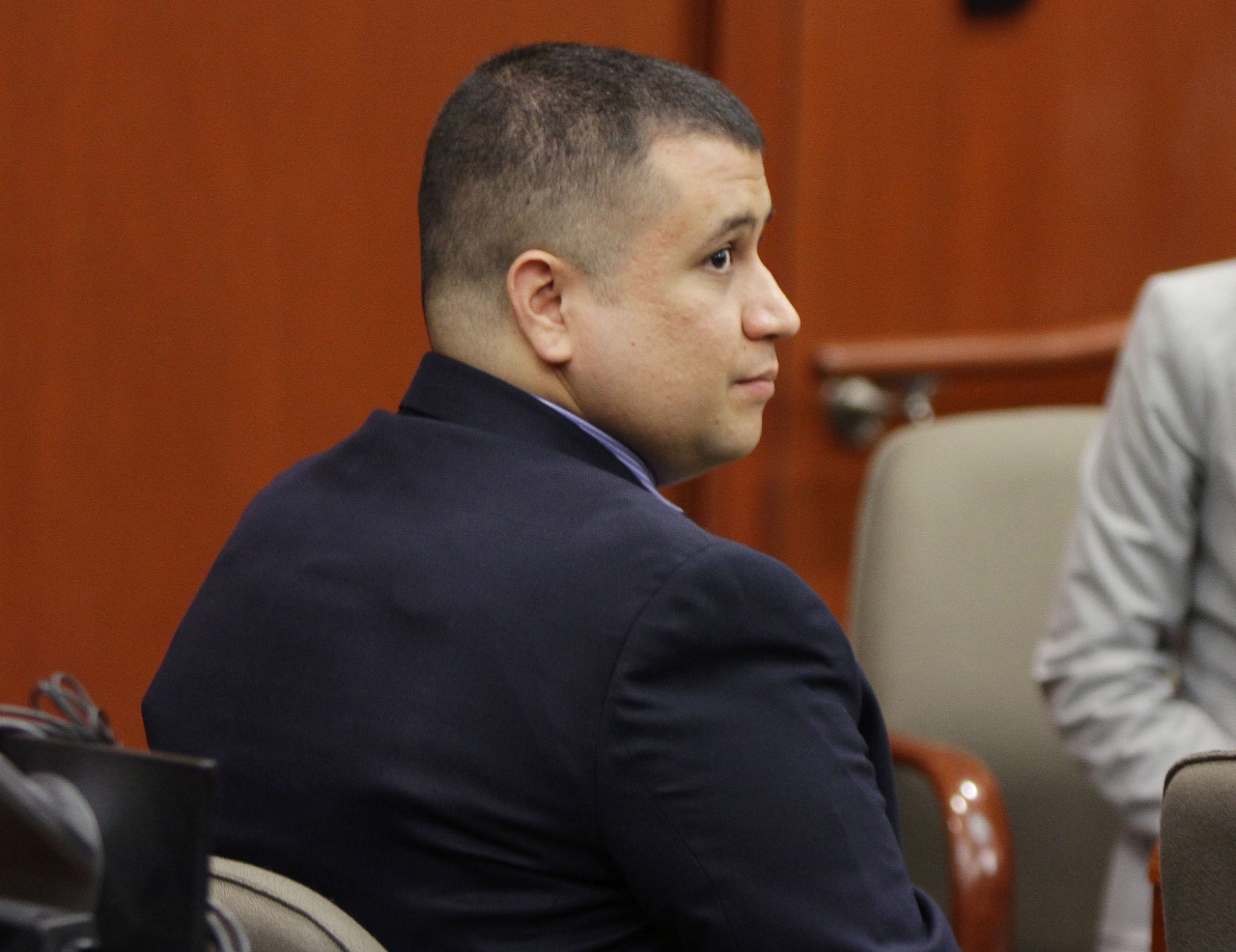 "A Florida judge on Tuesday denied a request from accused murderer George Zimmerman to let him remove his GPS monitoring device and travel freely in the state pending his trial next June in the shooting death of unarmed black teenager Trayvon Martin. Zimmerman, 29, has been confined to Seminole County under a $1 million bond since July, when a judge concluded that he had presented false information about his assets and was a flight risk. Zimmerman and his wife, Shellie, who is charged with perjury for allegedly lying to the judge about the couple's finances, live in hiding and ""in fear of violence,"" according to a 74-page motion filed by his lawyer, Mark O'Mara. READ ON: Florida judge keeps GPS monitor on Trayvon Martin's killer"
