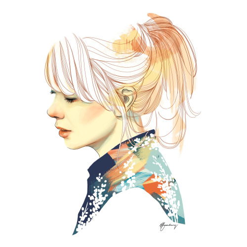 elfandiary:  and yess i drew paula bonet! always love her works! :)