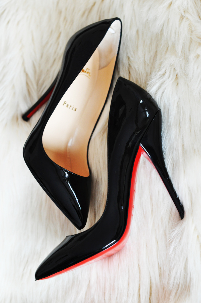 Back to Basics Can you ever have too many Christian Louboutin black pumps? I mean, really, is there anything more timeless than a quilted black Chanel bag? If you need to add to your closet, check out the oodles of options for these classic black stilettos on eBay, as well as the aforementioned quilted Chanel staple.  (Photo: Courtesy of Killing Heels. Text by Jauretsi)