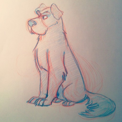 devengreves:  Never really been able to come up with a Padfoot design I've been satisfied with. This one's closer, still not quite there tho.