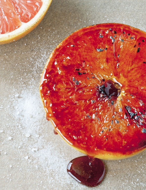 Caramelized Florida Grapefruit