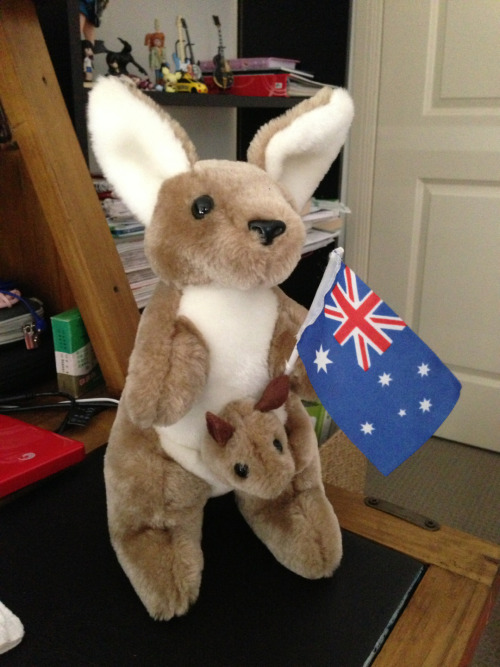 Happy Australia Day~!!! It's Saturday, January 25th. To all of you fellow Aussies; stay safe and have a g'day~!! :D