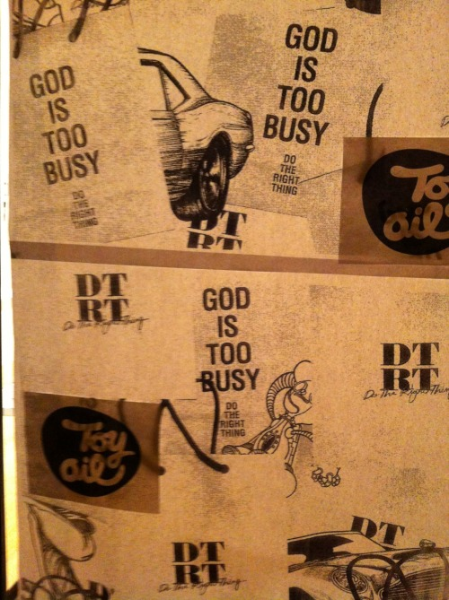 GOD IS TOO BUSY. DO THE RIGHT THING