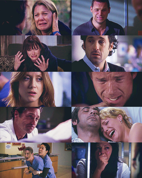 Grey's Anatomy + Sadness