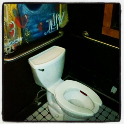 Toilet Luv. By and By, NE Portland #toilet, #byandby, #pdx