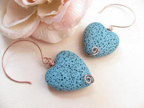 nikeleenike:  (со страницы Texture Hearts Earrings | We Heart It)