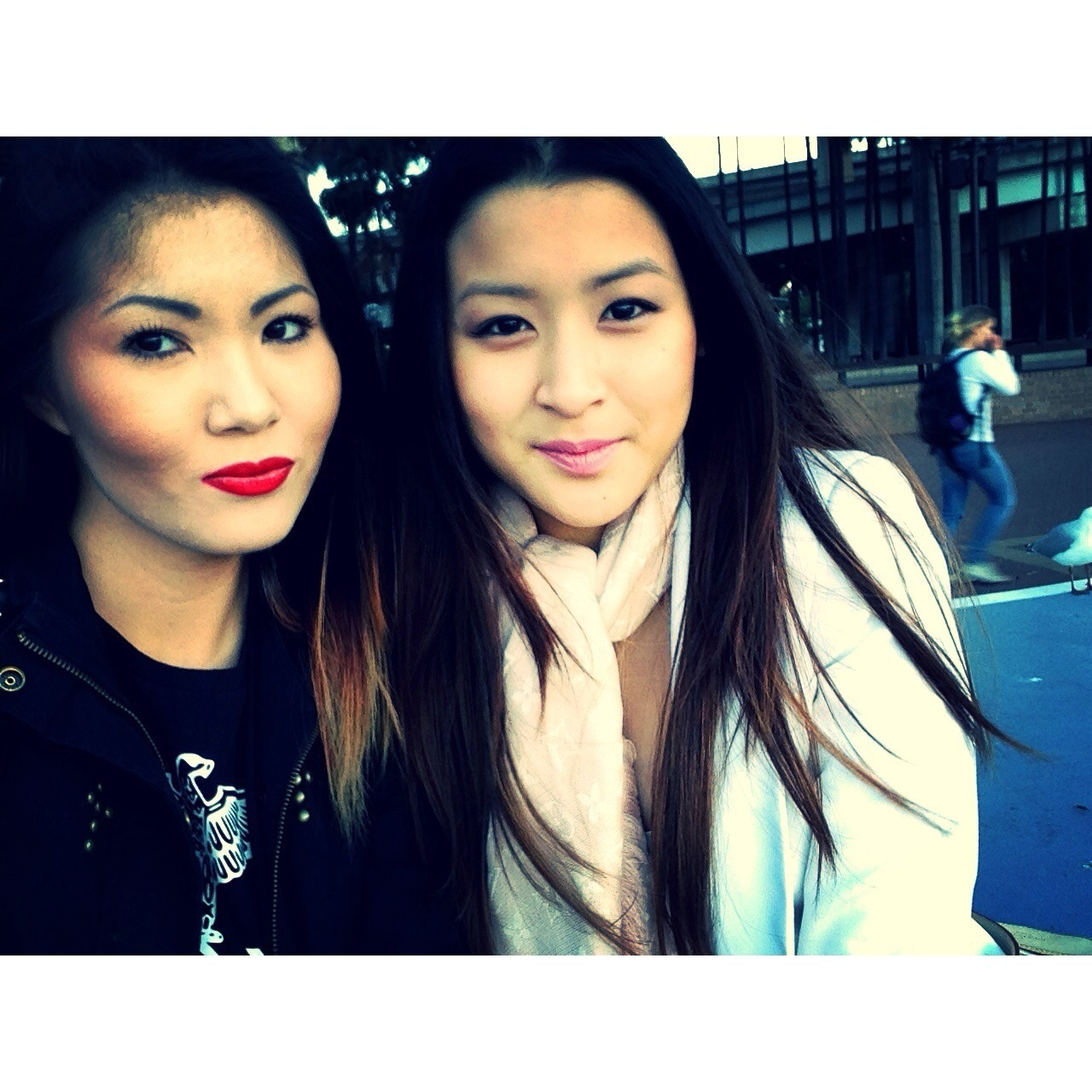 Darling Harbour w/ this chicka