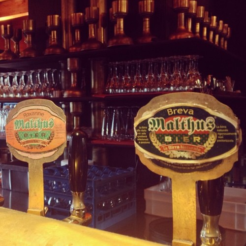 First brew pub in Italy (at Il Birrificio di Como)