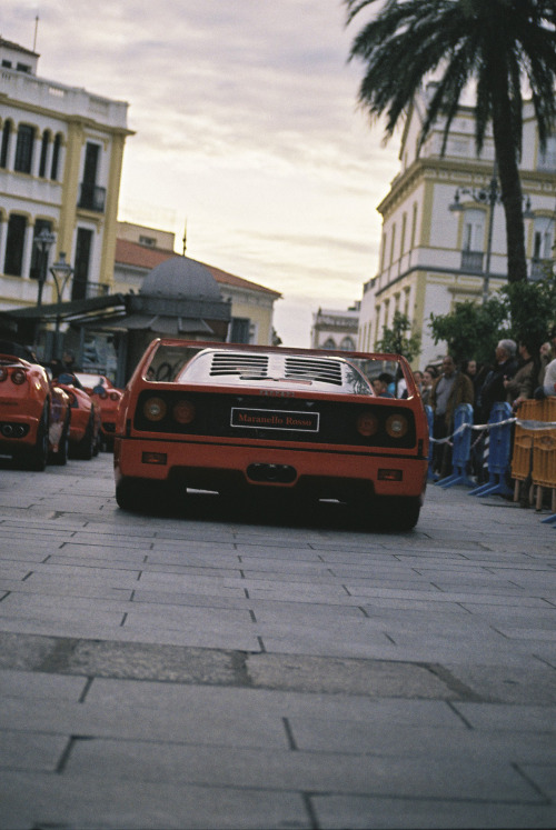 licpics:  Ferrari F40 in Merida, it was a little expo of luxury cars. I took it with a Praktica TL 1000, my father's camera. It was such a nice experience to chage from digital camera to analog camera.