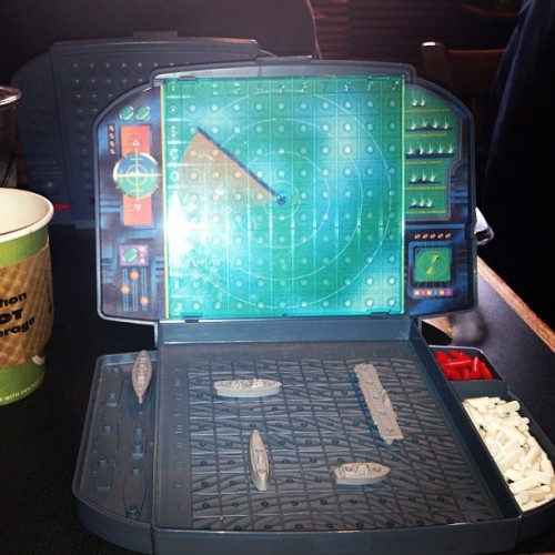 Coffee and battleship