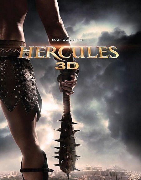 Hercules 3D is due to hit theaters February 2014 and what does this poster tell us?  That there will be plenty of shots of Kellan Lutz's barely covered body plastered everywhere as he plays Hercules, a Man, God, and Hero!  But we already knew that didn't we, it's Kellan Lutz. Easy enough to figure out the direction they were going with this one right from casting. [source]