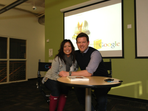 First, David Beckham, now Tyler Florence. I can now retire from Google fulfilled and happy ;)