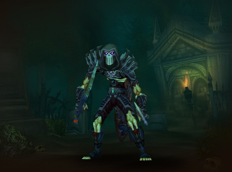 Ossum of the Horde Male Undead Rogue EU Hellfire [Merciless Gladiator's Leather Helm] [Merciless Gladiator's Leather Spaulders] [Legbreaker Greatcloak] [Merciless Gladiator's Leather Tunic] [Forgotten Bindings of the Windflurry] [Merciless Gladiator's Leather Gloves] [Belt of the Twilight Assassin] [Merciless Gladiator's Leather Legguards] [Vindicator's Leather Boots] [Dagger of the Seven Stars] [Masterwork Ghost Shard]
