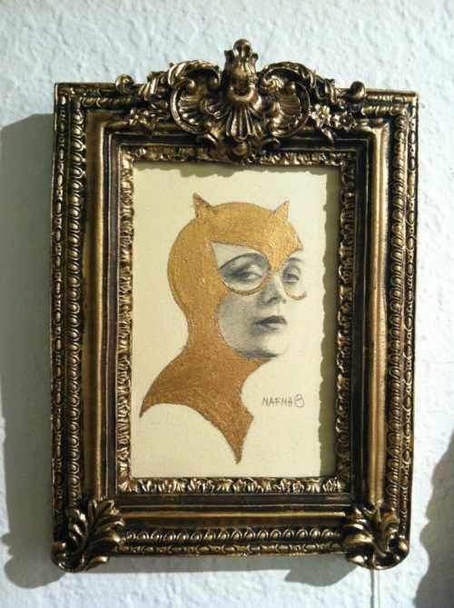 Beautiful Cat Woman by Nora Ann-Francis Martin-Hall