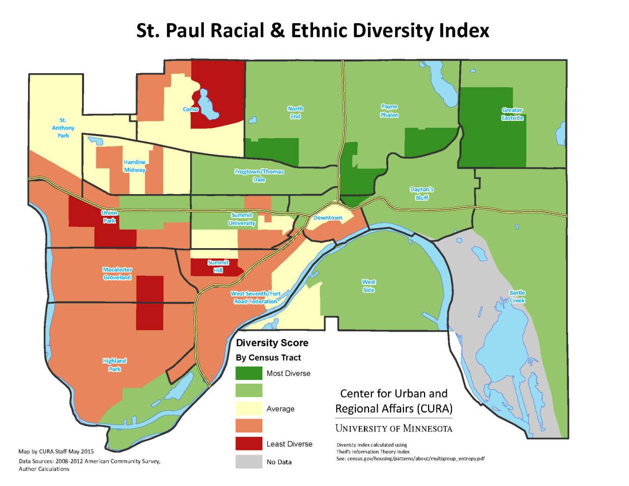 Ethnic Diversity Index