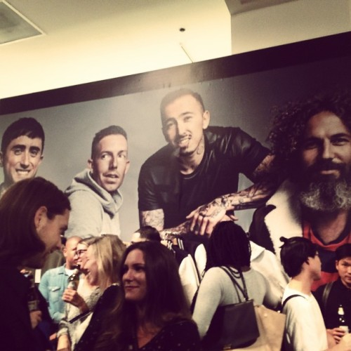 GQ x Gap best new menswear designers 2014 pre launch.  (at Gap Astor Place)
