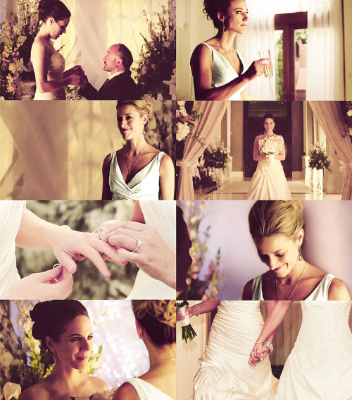 setthedarkonfire:  Lost Girl AU picspam, The Wedding