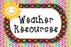 My Top 43 Weather Resources for Kids #meteorology #scichat #weather List includes interactives, games, kid-friendly information, online quizzes,  how-tos, videos, raps, ideas, crafts, calculators, projects and more!   Weather Wiz Kids Tree House Weather Kids Weather Report for Kids Weather Spark Weather Calculators EdHeads: Report/Predict the Weather The Farmer's Almanac for Kids Weather Channel Kids Space Weather Center Fossweb: What's the Weather? Web Weather for Kids Weather Watch What is Weather? SciJinks Games/Interactives  Interactives: Weather Weather Dog Quiz Franklin's Forecast Storm Watch Bad Weather Joke Machine  Weather Cams National weather Service: Playtime for Kids Global Climate Change for Kids MythBusters Weather Quiz Interactive Weather Maker Citizen Science Project: Precipitation Fact Monster: Weather The Weather Game How Fast is the Wind? Make Your Own Weather Station Weather Proverbs Make a Rain Gauge Take the Wind Speed Challenge Temperature Charts (printable) Owlie Skywarn's Weather Book (printable) Readers' Theater: The Water Cycle Weather for Kids Part 1 (video) Weather for Kids Part 2 (video) Bill Nye the Science Guy Weather Rap The Weather Rap (Use this great idea and create your own.) Weather Poetry My Weather Report (printable) Cloudy with a Chance of Meatballs: Official Trailer (Fun intro to a weather lesson) Weather Blog Hop (Lots of weather related ideas shared by others.)   Check out this freebie! The Daily Scoop!  Includes a space to report the weather.