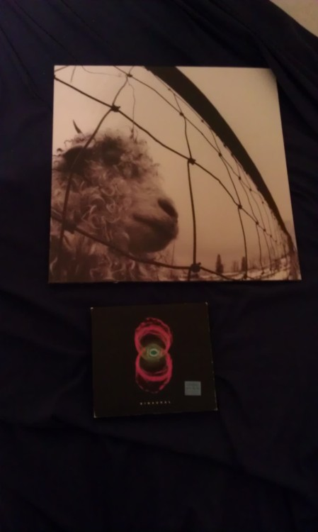 Here's what i got for record store day today: PEARL JAM