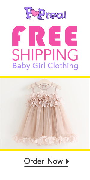 Popreal Cute Toddler Dress