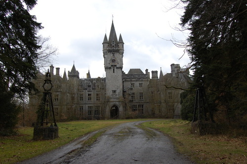 Looks like a Scottish castle in Mia Marlowe's Spirit of the Highlands series…