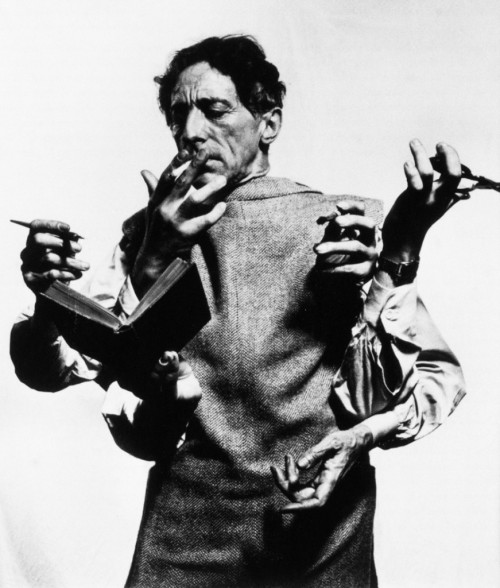 "nevver:  ""I am a lie that always speaks the truth.""  ― Jean Cocteau"