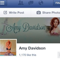 https://www.facebook.com/pages/Amy-Davidson/288122507990385  Hi friends! I have a new FB page! Please Like it and Share with your peeps! Yay. Thank you!