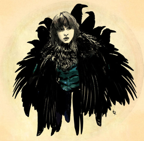 gameofthrones:  The Raven is you. Bran Stark by Romik Safarian www.themobiusstrip.com