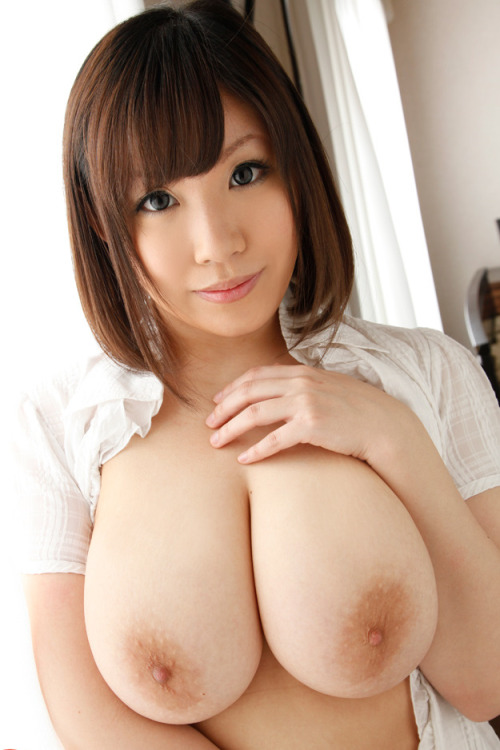 bigboobbasement:  What I love most about this pic, is not just her incredibly large boobs, but also her incredible eyes!
