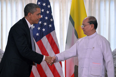 White House Visit for Myanmar's Thein Sein Historic, and Earned In a show of just how far Myanmar has come, President Thein Sein — the unlikeliest of reformers — is in Washington to meet President Barack Obama at the White House on Monday. Read the full story here.