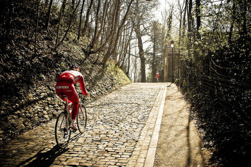 Climbing The Muur by smashred on Flickr.Muur