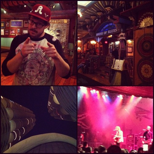 House of blues Chicago with @chanmand3r reuniting with old friends #chicago #hob #relientk #hellogoodbye  (at House of Blues Chicago)