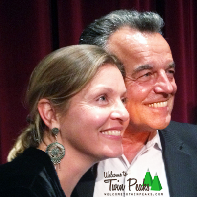 welcometotwinpeaks:  Sheryl Lee and Ray Wise reunited at yesterday's final Twin Peaks Series Retrospective event in L.A. (http://bit.ly/TCPeQA). Thanks to Shana K for the lovely photo! ▲ Welcome to Twin Peaks ▲ http://on.fb.me/13mZJrY via http://bit.ly/OF8QRD