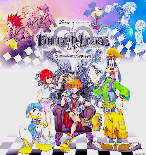 Kingdom Hearts HD 1.5 ReMix Official Cover (♥)