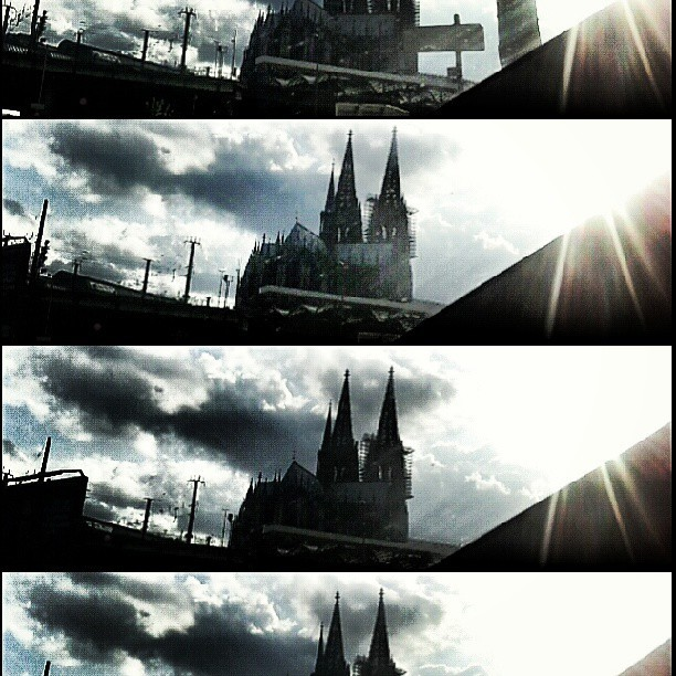 Forever in love with this town #Cologne  (at Kölner Dom)