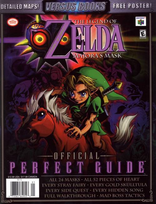 The Legend of Zelda: Majora's Mask Official Perfect Guide.