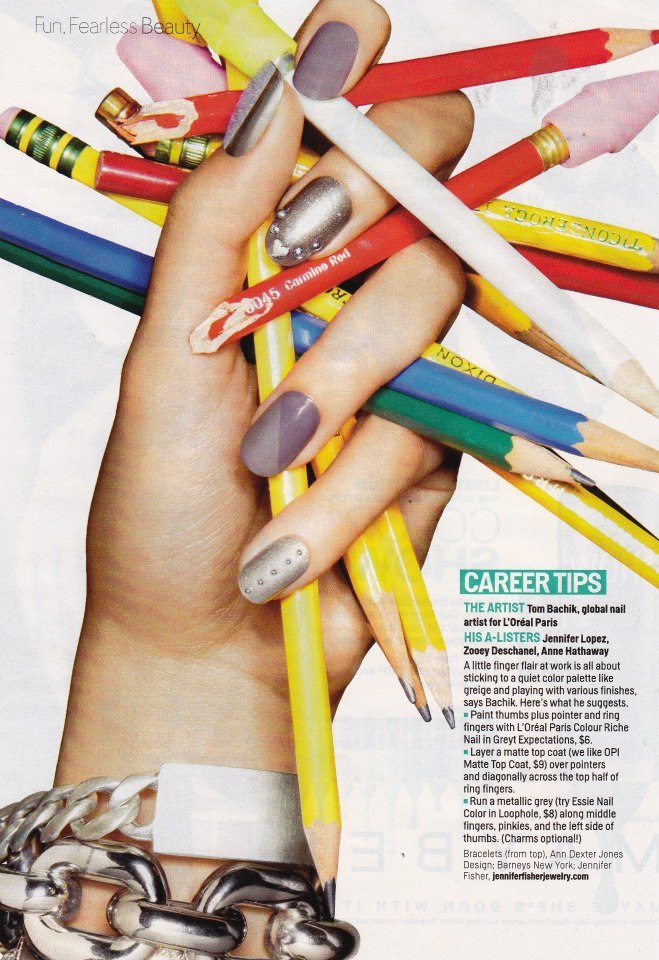 Spotted! Jennifer Fisher Jewelry featured in Cosmopolitan, June 2013 Learn more about Jennifer Fisher.