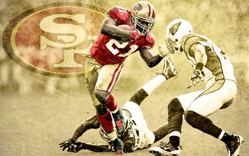 @ProCanes Wallpaper of the Day: San Francisco RB Frank Gore
