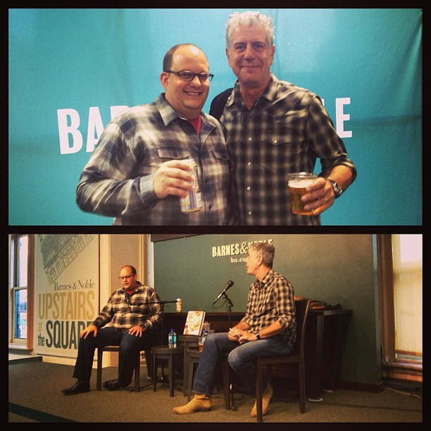 @ThePOSM book & #BourdainBooks launch day goin down right now at Union Square B&N, come say hi! (at Barnes & Noble)
