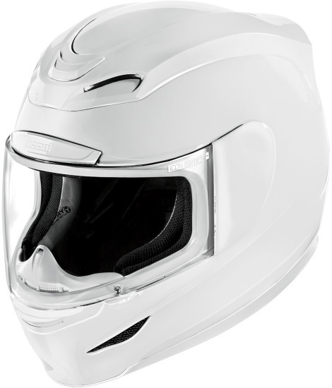 "It's official - Icon Airmada Helmet - fit for human consumption. As of Friday, Icon has officially put it's stamp on the next lid for the new millenium - the  Icon Airmada Helmet. The claim to fame on this bad boy is all the things you love about the Alliance, but now in track ready form. To us ""track ready"" form speaks to the Airmada's four shell sizes and new all encompassing shape around your face and crown, which should appeal to the track day and race community specifically. While we have not ridden in it yet, Icon puportedly has also improved the venting scheme in a step past the current Airframe which apparently should be considered the former champ. Time will tell on the Icon Airmada and it's adoption by the track community of riders. Wait and see. Wait and see. -BoochZilla Follow Me on G+"