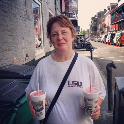 The right way to walk Bourbon street